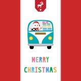 Glad jul som hälsar card37 Royaltyfri Foto