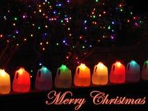 Glad jul som hälsar för ferierna Royaltyfria Foton