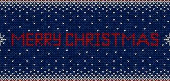 Glad jul som sticker den sömlösa modellbakgrundsvektorn royaltyfri illustrationer