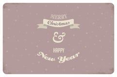 glad jul tappning för mapp för eps för design för kort 8 bland annat vektor stock illustrationer