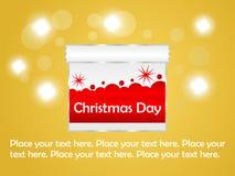 Glad julbakgrund Fotografering för Bildbyråer