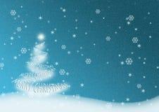 Glad julgran Royaltyfri Fotografi
