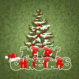 Glad julkort Royaltyfria Bilder