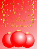 Glad julkort stock illustrationer