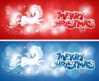 Glad julkort Arkivbilder