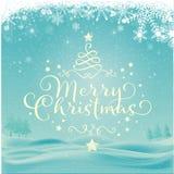 Glad julkort Royaltyfri Fotografi