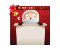 Glad julkort Arkivbild