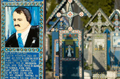glad kyrkogård Royaltyfria Bilder