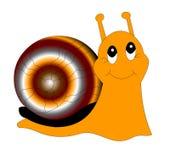 glad snail Arkivfoto