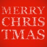 glad snowflakestitel för jul Fotografering för Bildbyråer