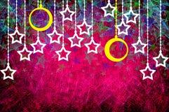 glad texturerad xmas för daggrunge Fotografering för Bildbyråer