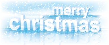 glad textvektor för jul Arkivbild