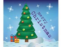 glad vykort för jul Royaltyfri Foto
