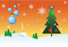 glada cristmas Royaltyfri Illustrationer