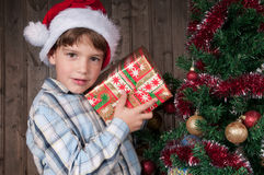 glada cristmas Arkivbild