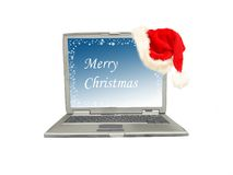 glada julhälsningar Royaltyfria Foton