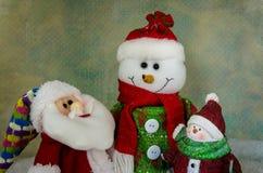 Glada julsymboler Arkivfoto