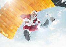 glada lyckliga ferier för jul arkivfoton