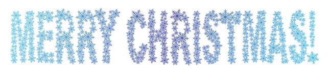 glada snowflakes för jul Royaltyfria Bilder