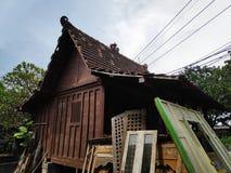 Gladag-Haus Java lizenzfreies stockfoto