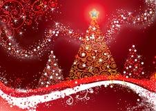 Glade Christmas_FIN Royaltyfria Bilder