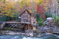 Glade creek grist mil. Beautiful Glade creek Grist mill Stock Photos