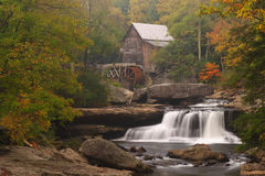 Glade Creek Grist Mill. Glade Creek Girst Mill at Babcock State Park in West Virginia Royalty Free Stock Image