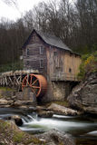 Glade Creek Grist Mill at Babcock State Park Royalty Free Stock Photos