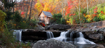 Glade creek grist mill Royalty Free Stock Photography