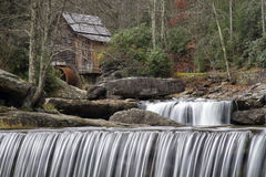 Glade Creek Grist Mill Royalty Free Stock Photo
