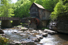 Glade Creek Grist Mill in Babcock State Park West Virginia USA Royalty Free Stock Photography