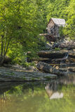 Glade Creek Grist Mill Stock Image