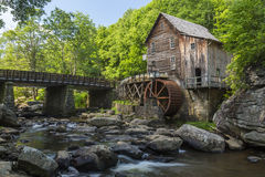 Glade Creek Grist Mill Stock Photos