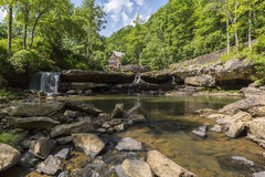 Glade Creek Grist Mill Royalty Free Stock Images