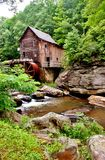 Glade Creek Grist Mill Stock Photography