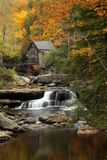 Glade Creek Mill. Photo of the Glade Creek Mill in Babcock State Park Stock Images