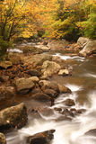 Glade Creek Scenic. Glade Creek runs through beautiful Babcock State Park in West Virginia during autumn Royalty Free Stock Image