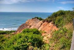 Glade Head klippor i Martha's Vineyard Fotografering för Bildbyråer