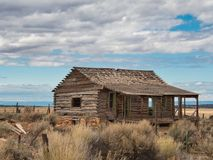 Deserted Cabin in Western Colorado royalty free stock photo