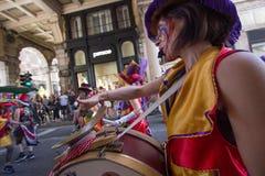 2016 glade stolthet Genova Arkivbild
