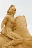 Gladiador Foto de archivo libre de regalías