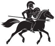 Gladiador ilustração stock