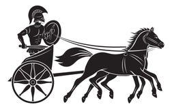 Gladiador ilustração royalty free