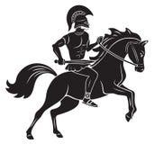 Gladiador ilustração do vetor
