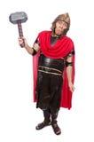 Gladiador com martelo Foto de Stock Royalty Free