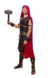 Gladiador com martelo Fotos de Stock Royalty Free