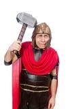 Gladiador con el martillo Imagen de archivo libre de regalías