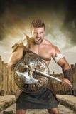 Gladiador/guerrero fotos de archivo