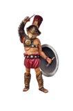 Gladiador romano Imágenes de archivo libres de regalías