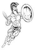 Gladiador romano Fotos de archivo
